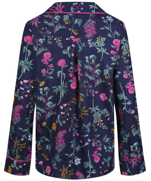 Women's Joules Sleeptight Light Pyjama Set - Navy Ditsy Florals