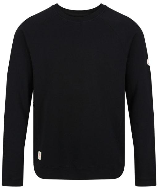Men's Globe Traveller Crew Sweater - Black