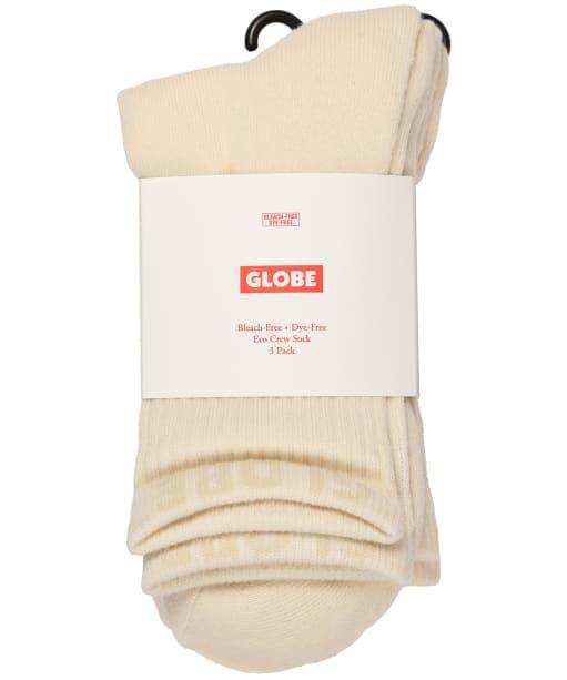 Globe Bleach Free Crew Socks – 3 Pack - Bleach Free