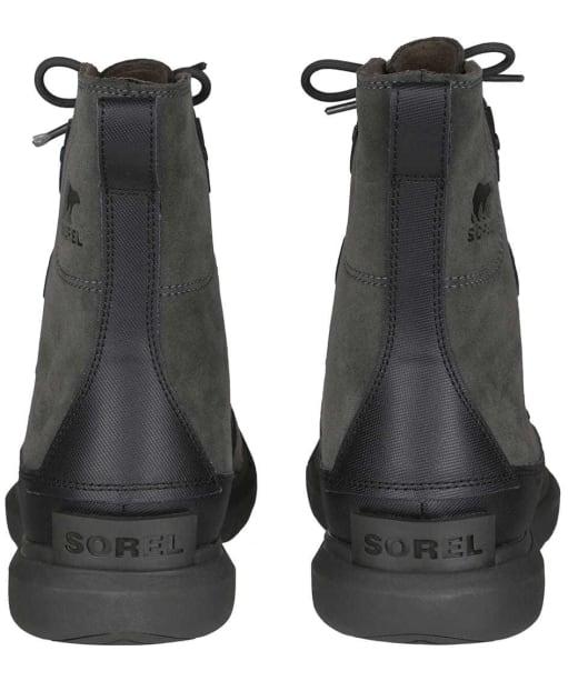Men's Sorel Explorer Waterproof Boots - Black / Jet