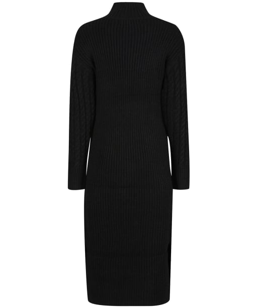 Women's Holland Cooper Windsor Cable Midi Dress - Black