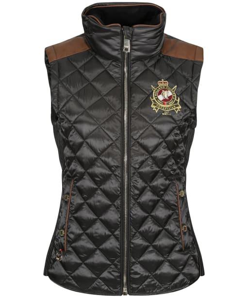 Women's Holland Cooper Diamond Quilt Classic Gilet - Khaki