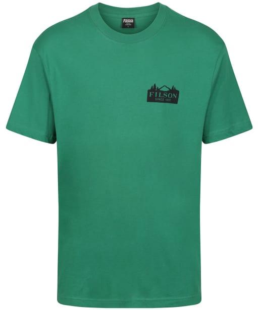 Men's Filson S/S Ranger Graphic T-Shirt - Verdant Green / Mountain