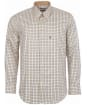 Men's Barbour Sporting Tattersall Shirt - Long Sleeve - Navy / Olive
