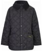 Boys Barbour Liddesdale Quilted Jacket - Black