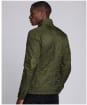 Men's Barbour International Ariel Polarquilt Jacket - Olive