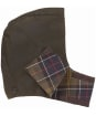 Barbour Childrens Hood - Olive | Classic Tartan