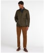 Men's Barbour Flyweight Chelsea Quilted Jacket - Olive