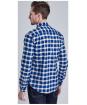 Men's Barbour International Haden Shirt - Deep Blue Check