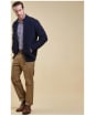 Men's Barbour Traditional Fit Moleskin Trousers - Lovat