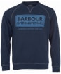 Barbour International Logo Sweater - Navy
