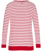 Women's Barbour Berkley Sweatshirt - Chilli Red