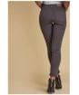 Women's Barbour Essential Slim Trousers - Carbon