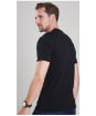 Men's Barbour International Small Logo T-shirt - Black