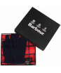 Men's Barbour Scarf and Glove Gift Set - Cardinal