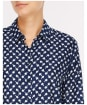 Women's Crew Clothing Elisha Shirt - Navy / Apple