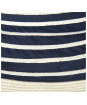 Women's Barbour Sealand Sun Hat - Navy Stripe