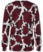 Women's GANT Flower Sweater - Mahogany Red