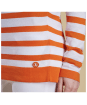 Women's Barbour Chock Stripe Knit Sweater - Marigold