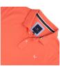Men's Crew Clothing Classic Pique Polo Shirt - Deep Coral