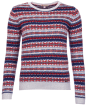 Women's Barbour Mallow Knit Sweater - Faded Blue