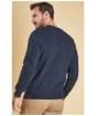 Men's Barbour Logo Sweatshirt -  Navy