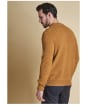 Men's Barbour Tisbury Crew Neck Sweater - Copper
