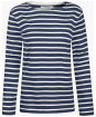 Women's Seasalt Sailor Shirt - Breton Night Ecru