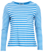 Women's Barbour Barnacle Top - Beachcomber Blue / Cloud