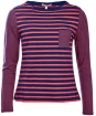 Women's Barbour Barnacle Top - Navy / Red