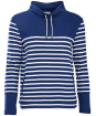 Women's Barbour Rief Sweatshirt - Navy / Cloud