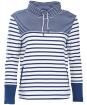 Women's Barbour Rief Sweatshirt - Cloud / Navy