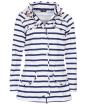 Women's Barbour Stripe Trevose Waterproof Jacket - Navy / White