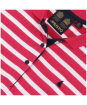 Women's Musto Ana Striped Polo Shirt - Bright Rose