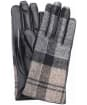 Women's Barbour Tartan Scarf and Glove Gift Set - Winter Tartan