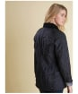 Women's Barbour Beadnell Polarquilt - Black