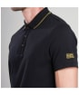 Men's Barbour International Polo Shirt - Black