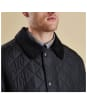 Men's Barbour Bardon Quilted Jacket - Black