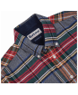 Barbour Castlebay Check Tailored Shirt - Grey Marl Check