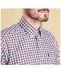 Barbour Bibury Tailored Shirt - Plum Check