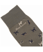 Men's Barbour Mavin Socks - Mid Olive / Dog