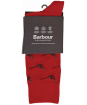 Men's Barbour Mavin Socks - Red / Pheasant