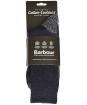 Men's Barbour Grassmoor Boot Socks - Navy