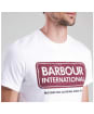 Men's Barbour International Logo Tee - White