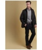 Men's Barbour Prestbury Wax Jacket - Rustic