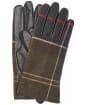 Women's Barbour Tartan Scarf and Glove Gift Set - Classic Tartan