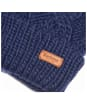Women's Barbour Ashridge Beanie Hat- Navy