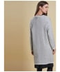 Women's Barbour Bowmore Knitted Jacket - Light Grey Marl