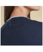Women's Barbour Bowmore Knitted Jacket - Navy