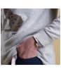 Women's Barbour Heath Knit Sweater - Light Grey Marl